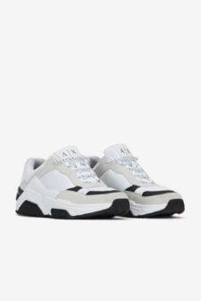 Armani exchange sneaker wit