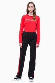Calvin klein regula sweater rood