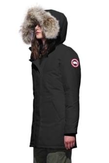 Canada goose ladies victoria parka 3037l black