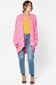 Circle of trust jamie cardigan pink please