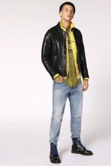 Diesel l-giota jacket black