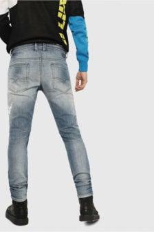 Diesel thommer-t joggjeans 8880t jeans blauw