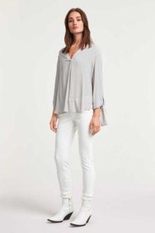 Drykorn florenia blouse grijs