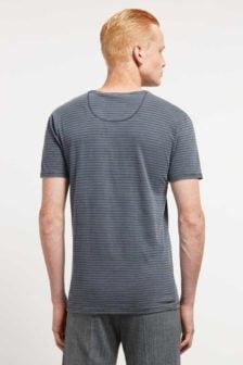 Drykorn nero shirt blauw