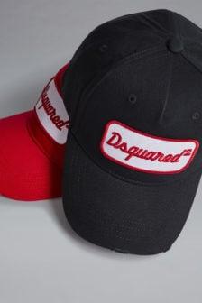 Dsquared baseball cap zwart
