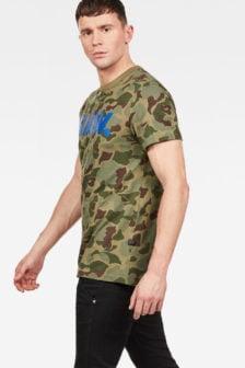 G-star graphic 52 shirt groen