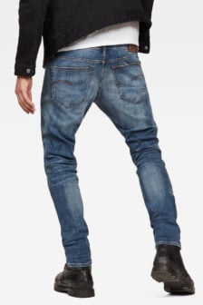 G-star raw aged jeans blauw