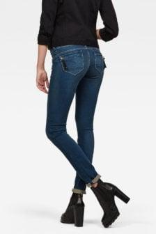 G-star raw midge cody skinny jeans blauw