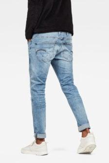G-star raw revend skinny jeans blauw