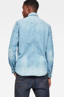 G-star tacoma slim denim overhemd