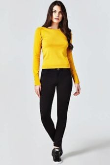 Guess curve skinny jeans zwart