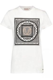 Josh v zoe v print shirt wit