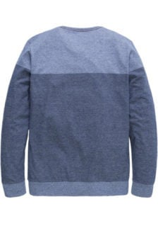 Pme legend yarn-dyed strepen sweater blauw
