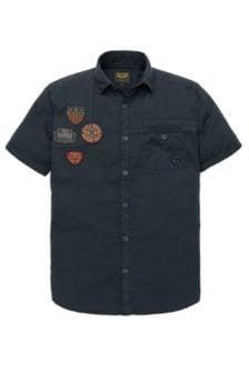 Overhemd Zwart Korte Mouw.Overhemd Korte Mouw Koop Je Online Bij Kellyjeans Nl