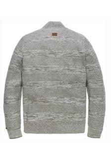 Pme legend half button knit bone white