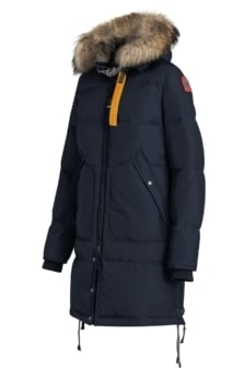 Parajumpers long bear woman jacket navy