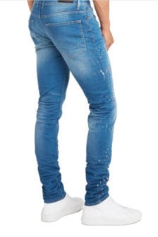 Pure white the jone 268 jeans blauw