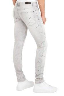 Pure white the jone 313 jeans grijs
