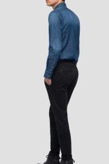 Replay chino zeumar hyperflex pants black
