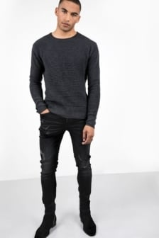 Tigha morty 7108 stone wash slim fit jeans