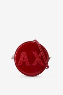 Armani exchange schoudertas rood
