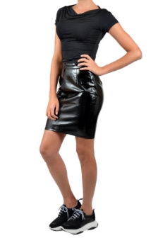 Armani woman jersey maglia black