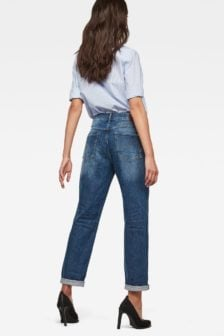 G-star saddle mid boyfriend jeans blauw