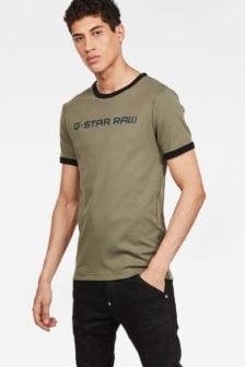 G-star xemoj slim shirt groen