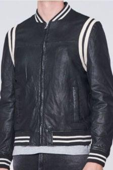 Goosecraft gc nowell bomber jas zwart