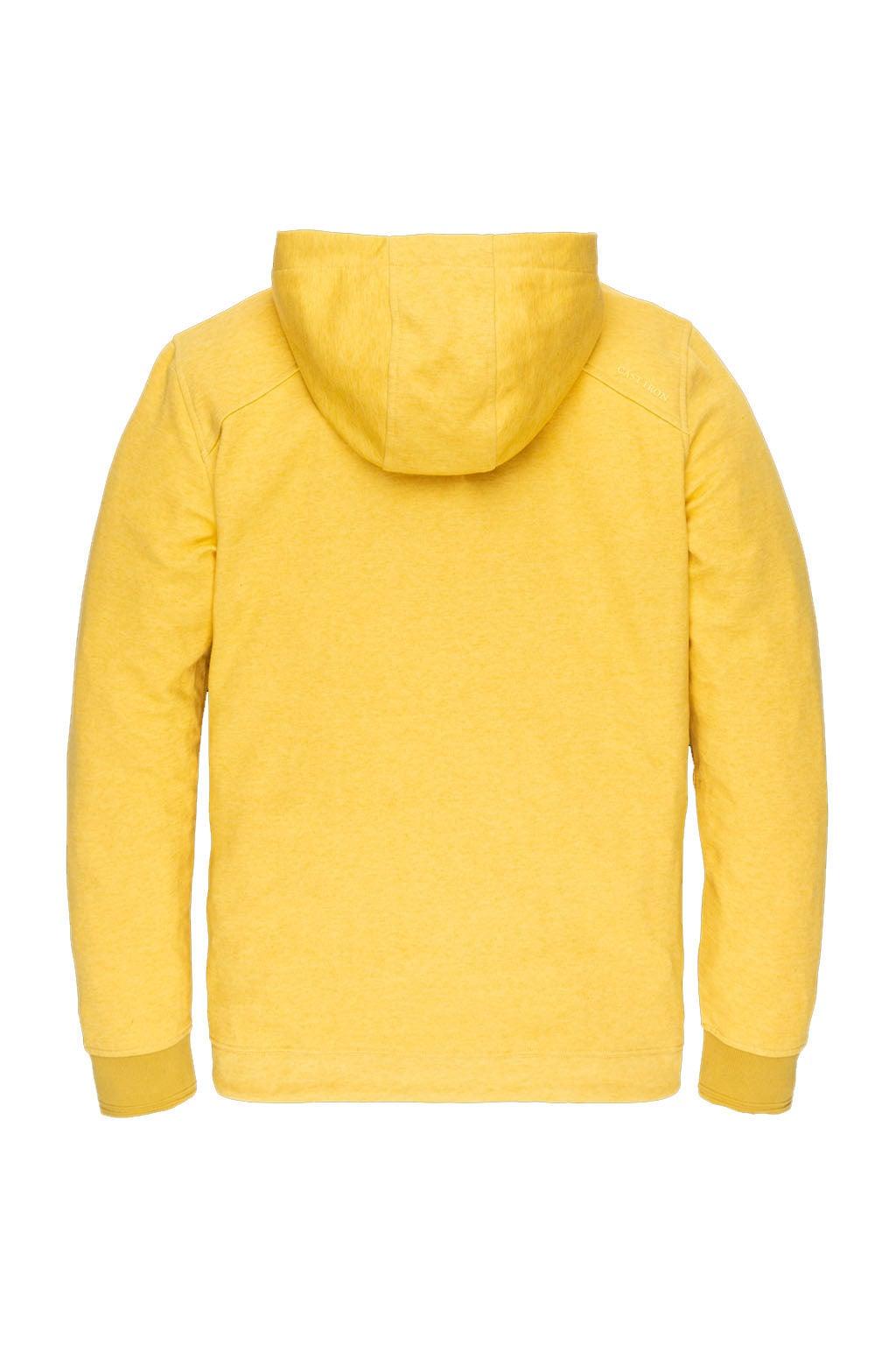 Cast iron sweater geel M Cast iron sweater geel