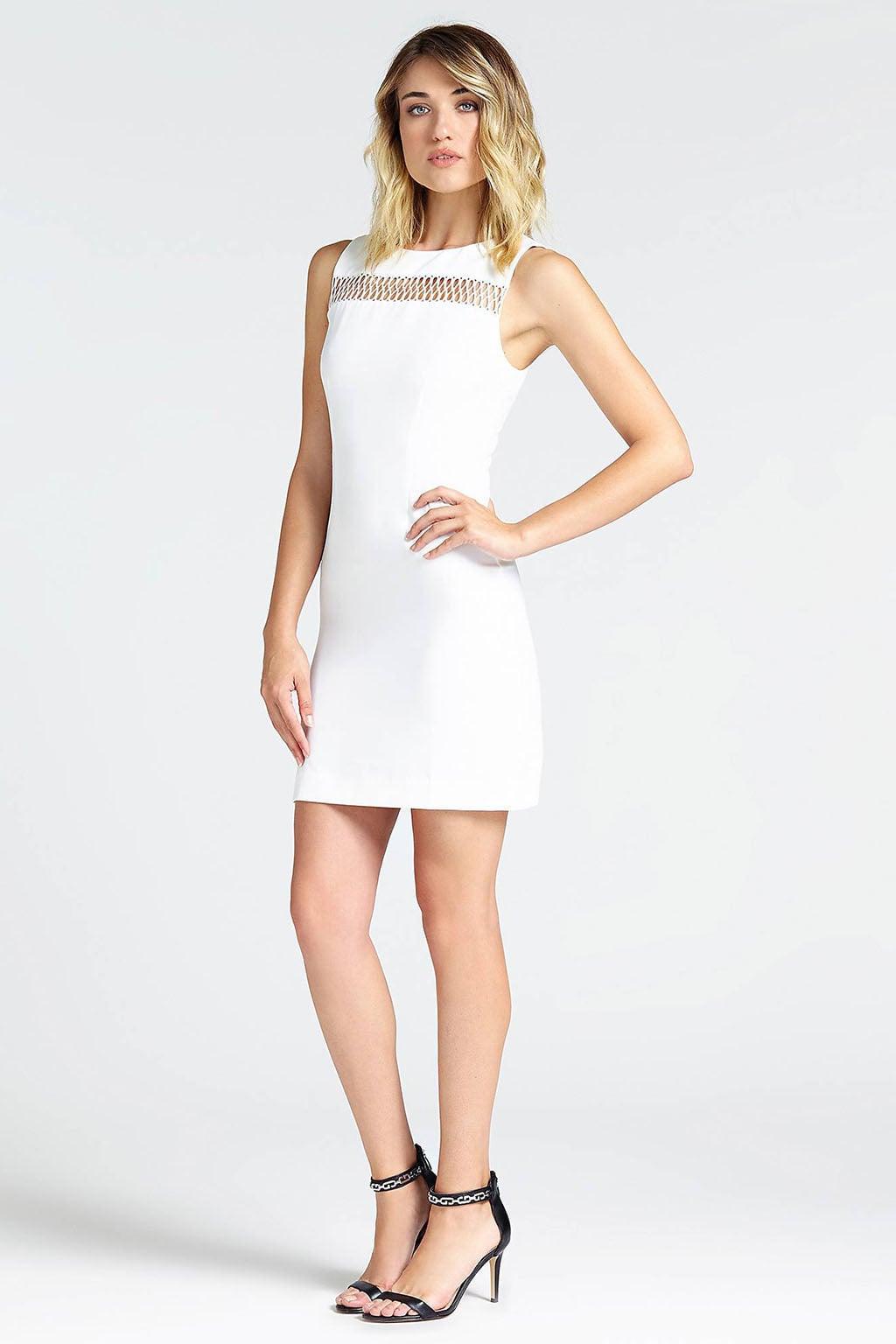 b8dd210f38fa69 Guess rosanna jurk wit koop je online bij Kellyjeans