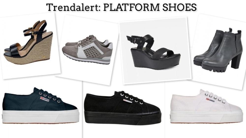 Trendalert: Platform schoenen!