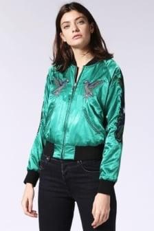 Diesel g-absol- m reversible bomber jacket