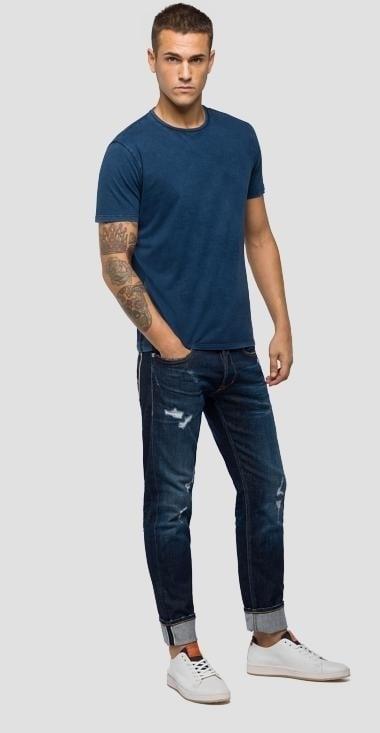 Replay shirt blauw - Replay