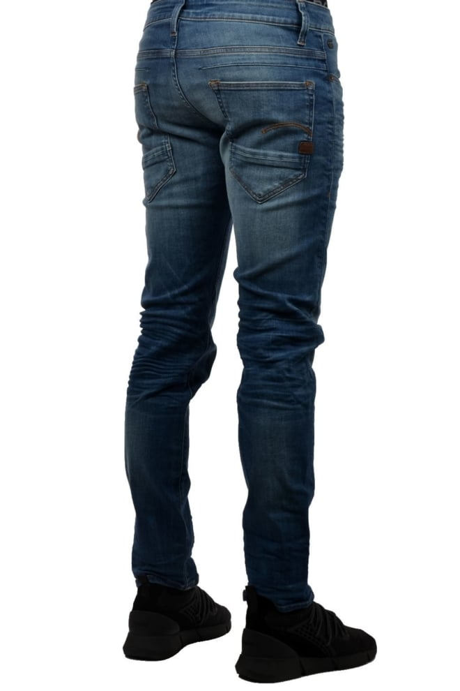 G-star raw d-staq slim jeans medium indigo aged - G-star Raw