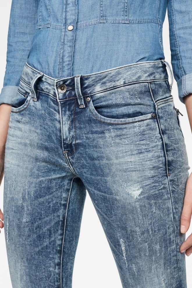 G-star raw midge zip mid-waist skinny - G-star Raw
