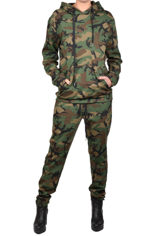 La sisters camouflage sweatpants - La Sisters