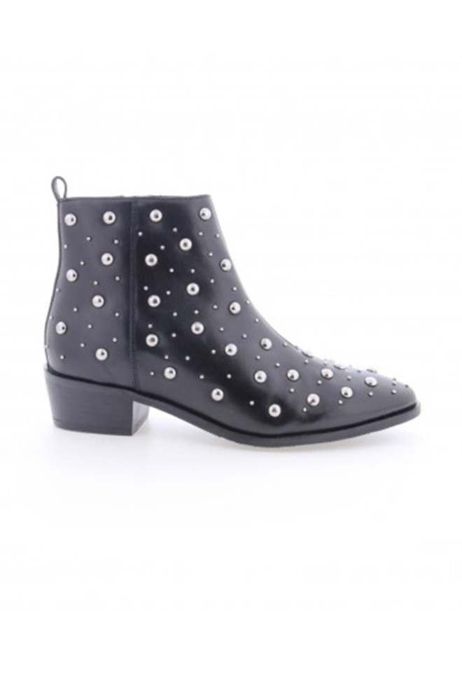 Bronx black leather ankle boots - Bronx Shoes