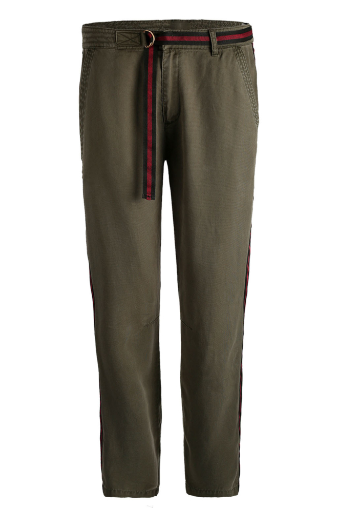 10 feet pantalon met tape details olive - 10 Feet