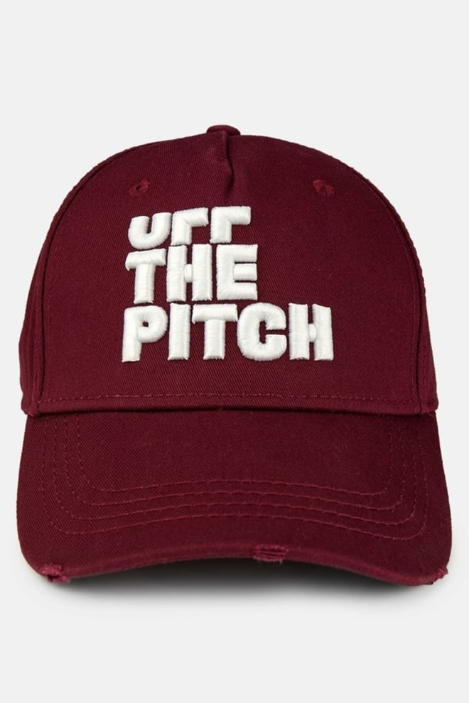 Off the pitch trucker cap burgundy - Off The Pitch
