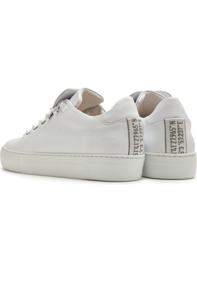 Nubikk jagger classic calf sneakers wit - Nubikk