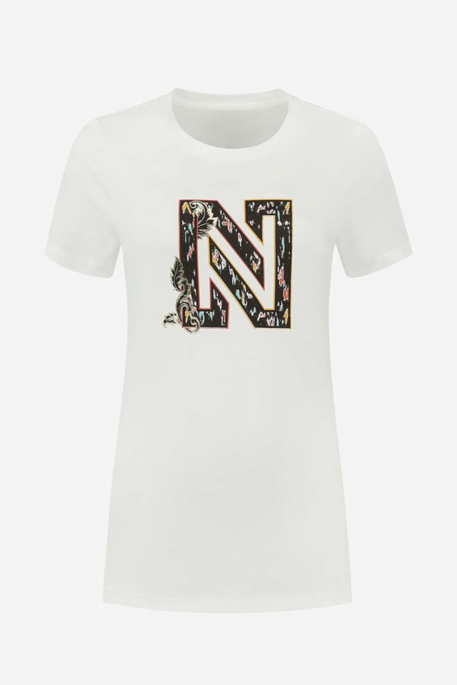 Nikkie ikat t-shirt wit - Nikkie