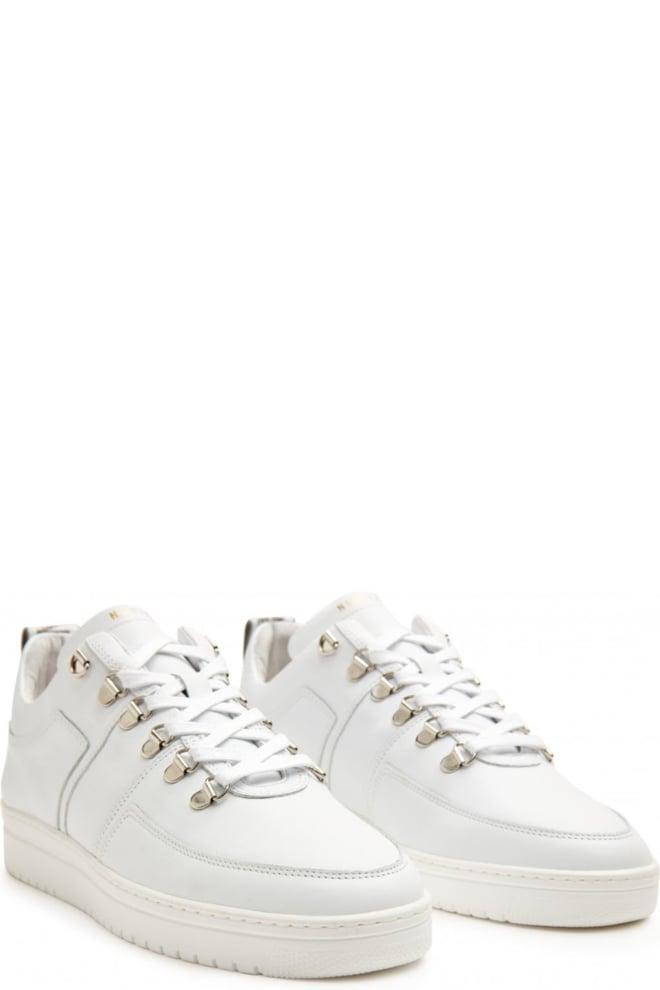 Nubikk yeye maze wit leer sneakers - Nubikk
