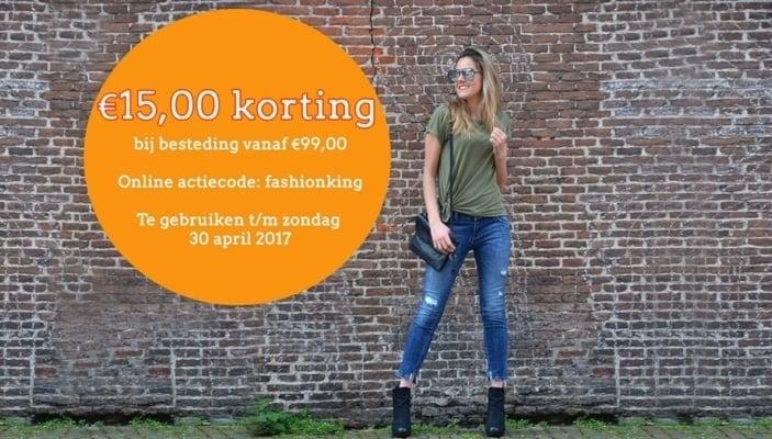 15 euro korting op Kellyjeans.nl!