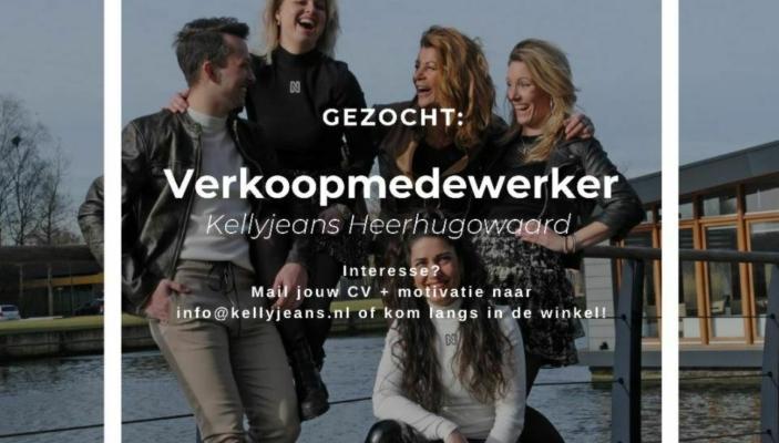 Vacature verkoopmedewerker Kellyjeans Fashion Store Heerhugowaard