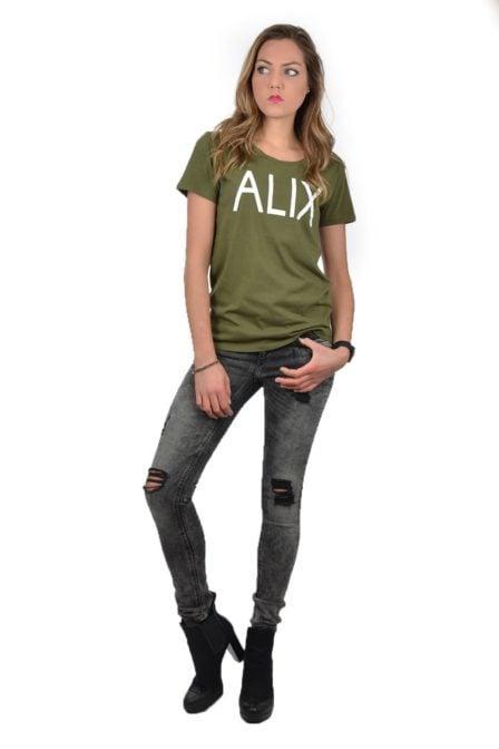 Alix t-shirt green