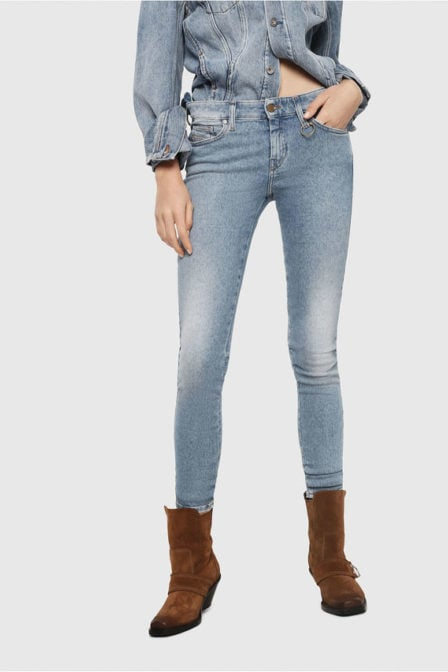Diesel slandy 85ac jeans blauw