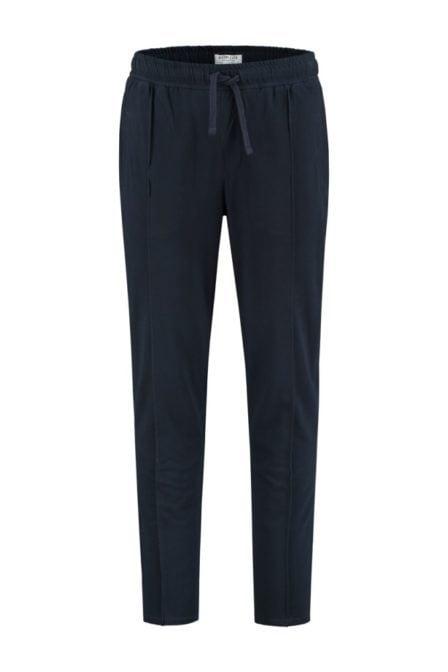 Dstrezzed jogger stretch pique broek blauw