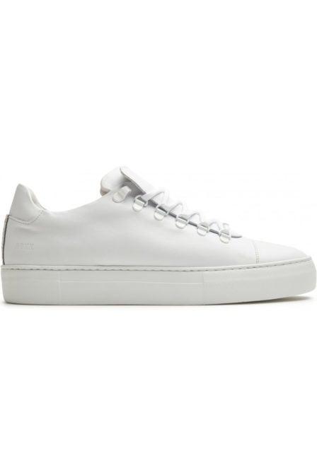 Nubikk jagger classic calf sneakers wit