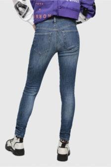 Diesel slandy 88av jeans blauw